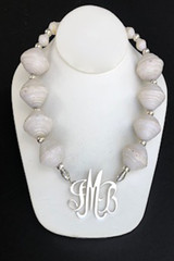 African White Necklace