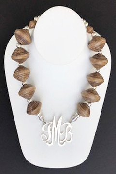African Mocha Necklace