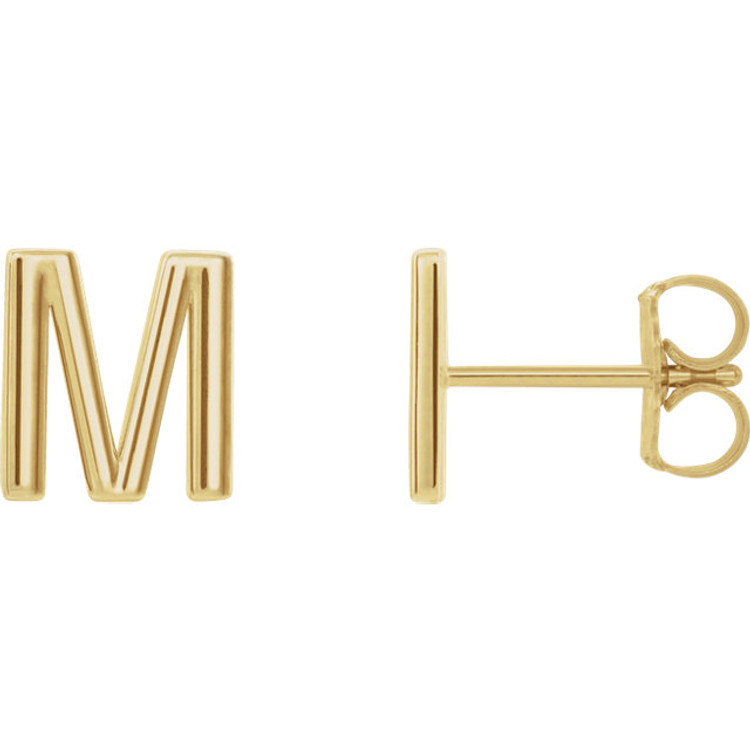 Monogram Initials in Vermeil or Gold