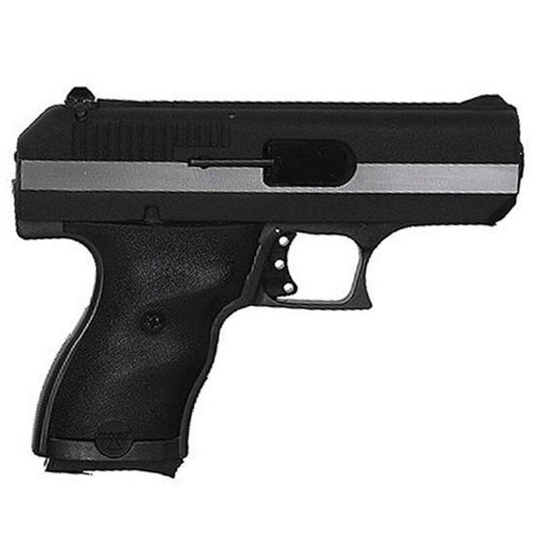 Hi-Point .380ACP Compact Poly-Frame Pistol 8+1 w/ Hard Case and Tuff1 Grip Black/Silver