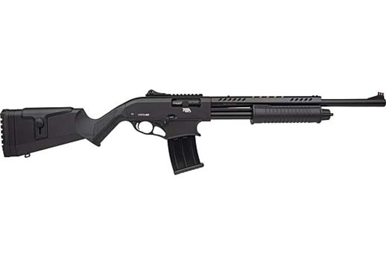 "Rock Island Armory VRPA40  12 Gauge Magazine Fed Pump Shotgun 20"" 5+1 Black"
