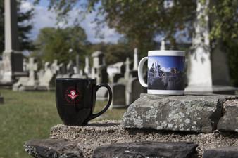 LHC Black Bistro Mug