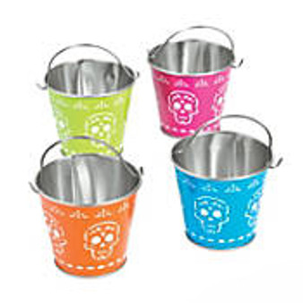 Day of the Dead Metal Pail