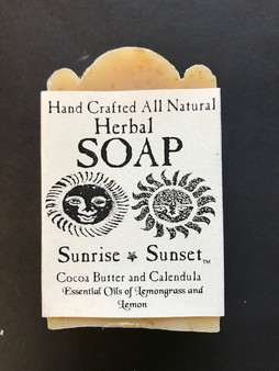 Handcrafted Herbal Soap- Sunrise Sunset