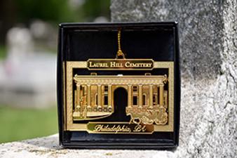 Laurel Hill Cemetery Gold Ornament
