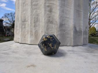 Obsidian Black Crystal Bath Bomb