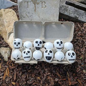 Skull Egg Dozen