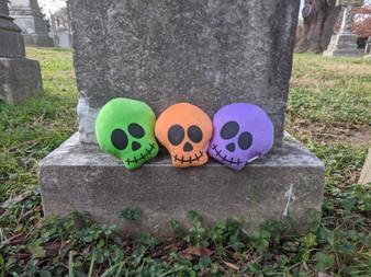 Bright Plush Skull