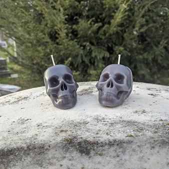 Mini Skull Candle