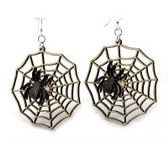 Spider Web Earrings