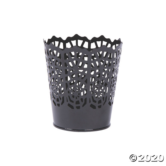 Spider Web Candle Holder