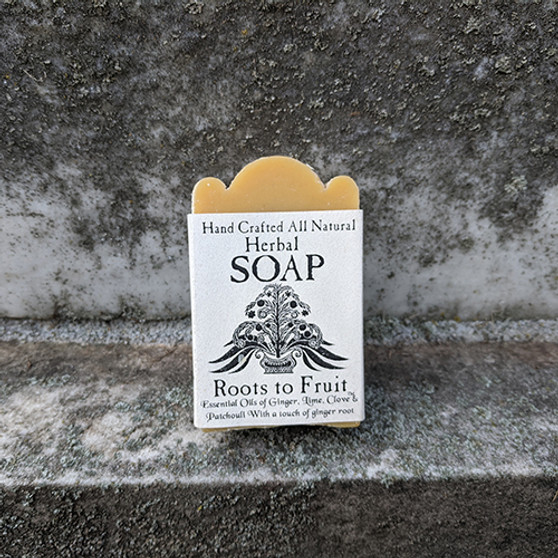 Handcrafted Herbal Soap- Roots to Fruit