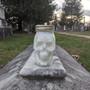 Skull Mason Jar Candle