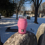 Pink Skull Mason Jar Candle