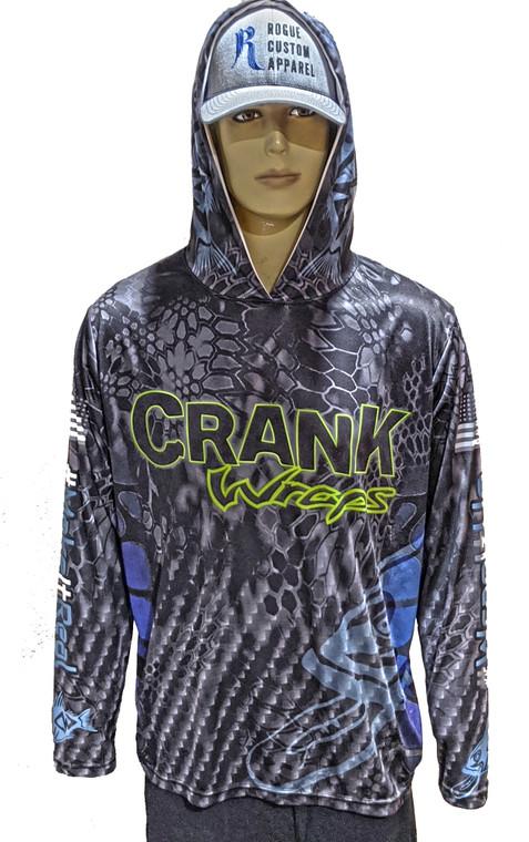 Crank Wraps Hooded Sunshirt