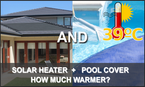How Warm Can a Pool Get With a Solar Heater and Cover