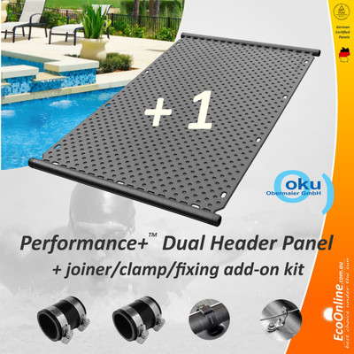 dual header add-on panel
