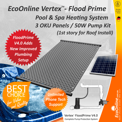 Vertex Solar Spa/Pool heating Systems