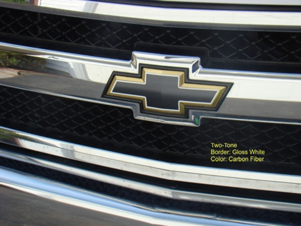 Front and Rear Bowtie Overlay Decals - 07-13 Avalanche