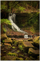 """Horseshoe Falls"" - fine art photo print of Horseshoe waterfalls at Hobart by Swapnil Nevgi"