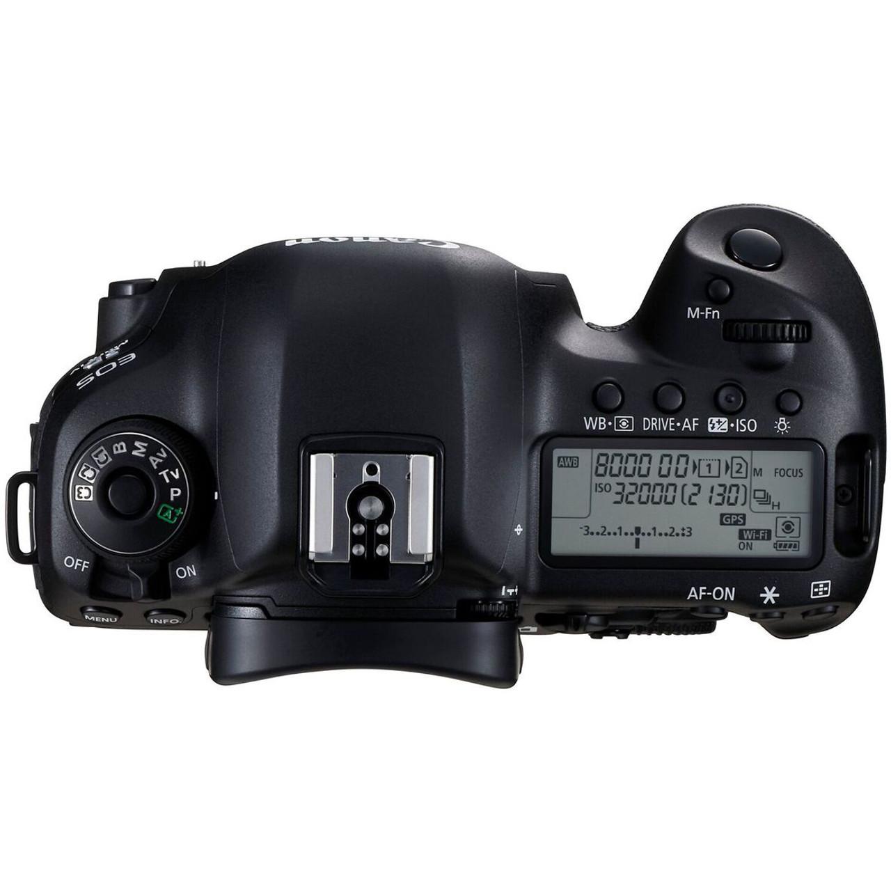 Canon EOS 5D Mark IV Camera- Body Only