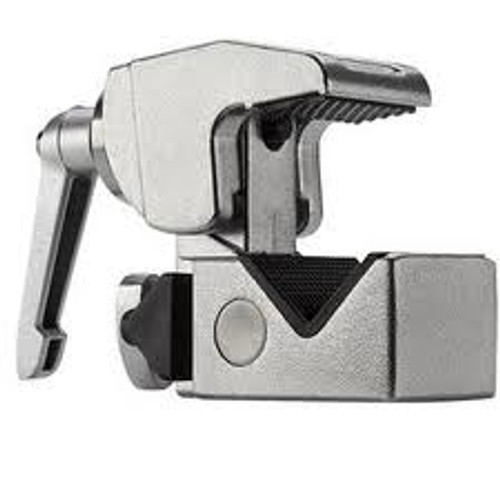 Kupo Convi Clamp with Adjustable Handle- Silver Finish