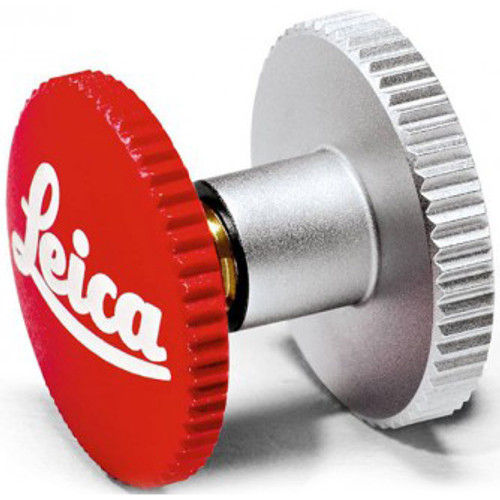 Leica Soft Release Button 8mm - Red
