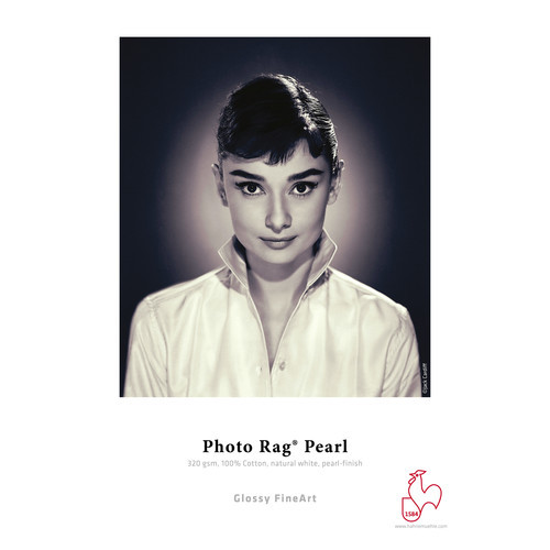 "Hahnemühle Photo Rag Pearl Paper- 13x19"", 25 Sheets"