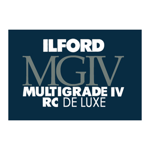 "Ilford Multigrade IV RC DeLuxe Paper- Glossy, 8 x 10"", 100 Sheets"