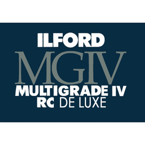 "Ilford Multigrade IV RC DeLuxe Paper- Glossy, 11 x 14"", 10 Sheets"