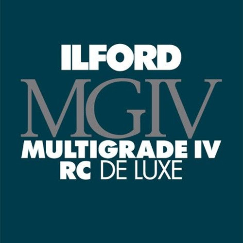 """Ilford Multigrade IV RC DeLuxe Paper- Pearl, 11 x 14"""", 10 Sheets"""