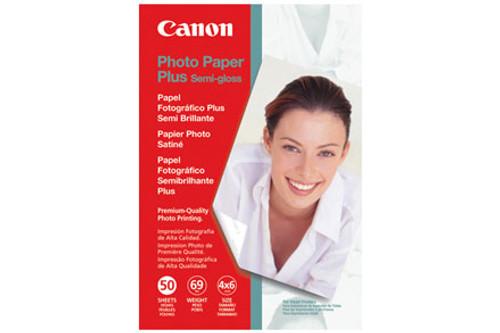 """Canon SG-201 Photo Paper Plus Semi-Gloss- 4 x 6"""", 50 Sheets"""