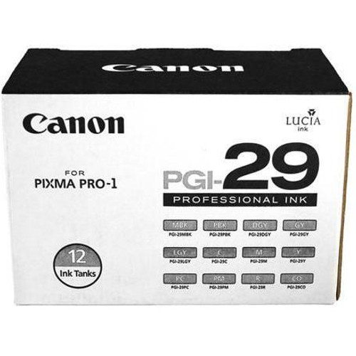 Canon PGI-29 12-Color Ink Tank Set