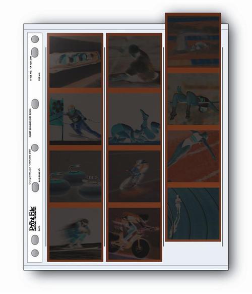 Print File Archival 120 Negative Preservers- 120-3HB, 25-Sheets