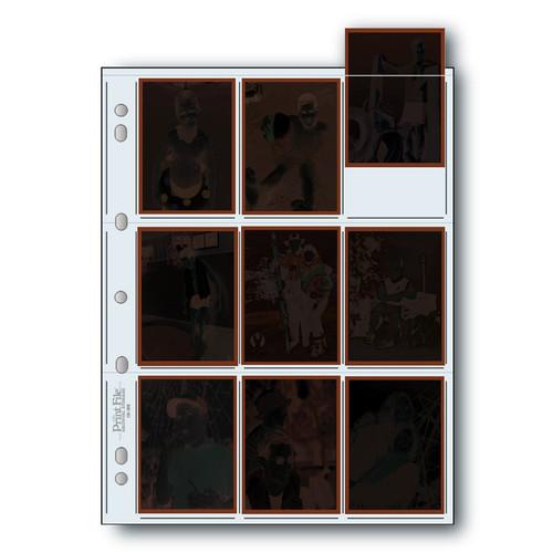Print File Archival 120 Negative Preservers- 120-9HB, 25 Sheets