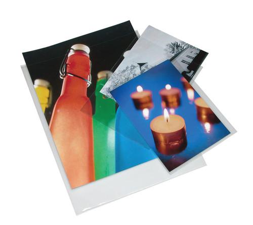 "Print File Polypropylene Presentation Pocket- 8.5 x 11"", 25-Pack"