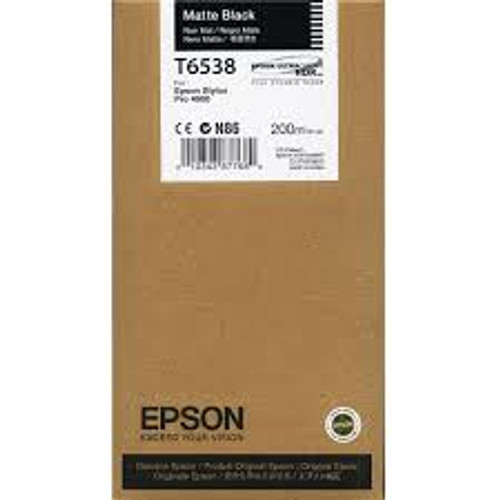 Epson Ultrachrome HDR Ink Cartridge 200 ml- Matte Black