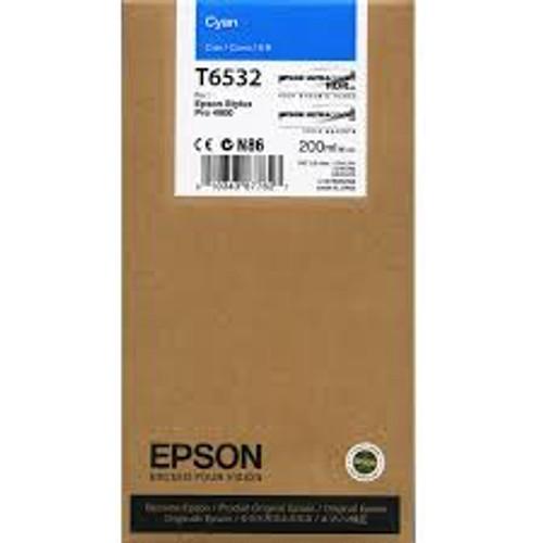 Epson Ultrachrome HDR Ink Cartridge 200 ml- Cyan