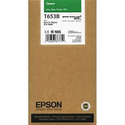 Epson Ultrachrome HDR Ink Cartridge 200 ml- Green