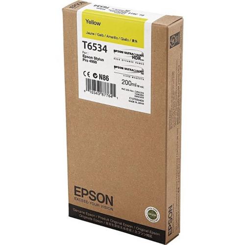 Epson Ultrachrome HDR Ink Cartridge 200 ml- Yellow