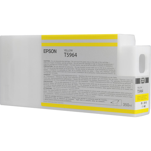 Epson T596 Ultrachrome HDR Ink 350ml- Yellow