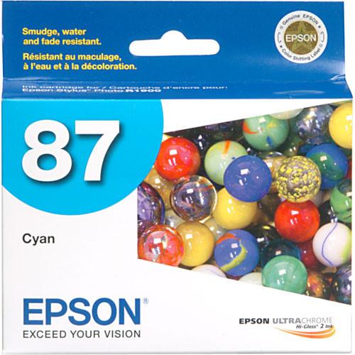 Epson 87 Ink Cartridge- Cyan
