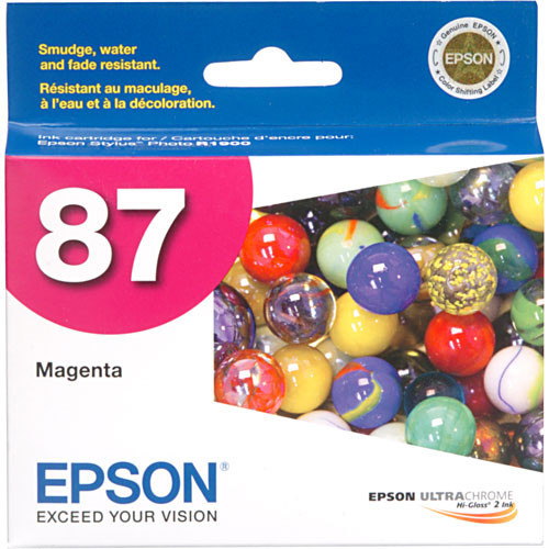 Epson 87 Ink Cartridge- Magenta