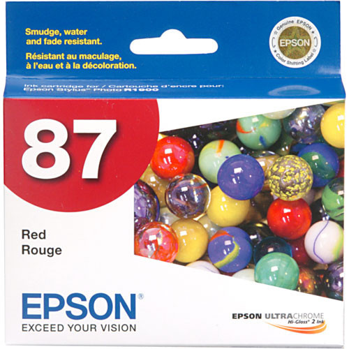 Epson 87 Ink Cartridge- Red