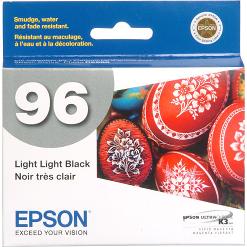 Epson 96 UltraChrome K3 Ink Cartridge- Light Light Black