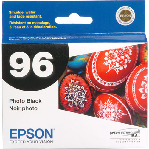 Epson 96 UltraChrome K3 Ink Cartridge- Photo Black