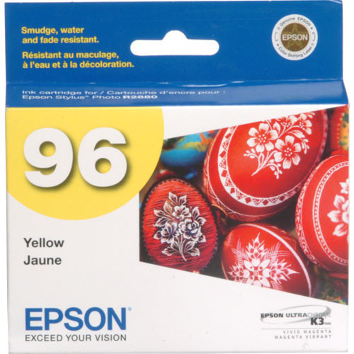 Epson 96 UltraChrome K3 Ink Cartridge- Yellow