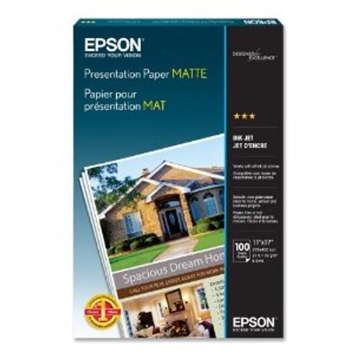 "Epson Presentation Paper Matte- 11 x 17"", 100 Sheets"