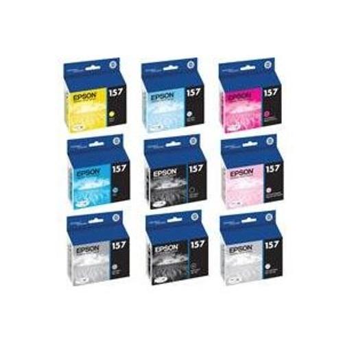 Epson T157 UltraChrome K3 Ink Cartridge- Photo Black
