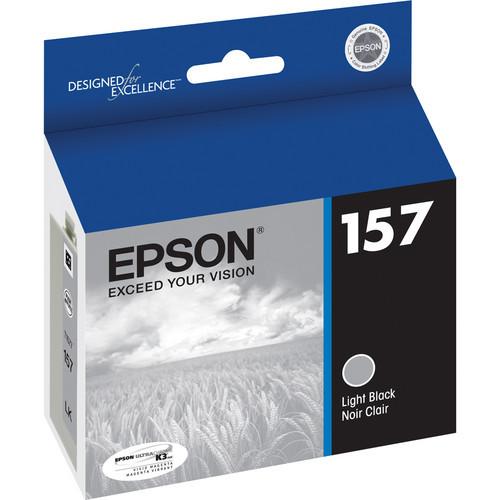 Epson T157 UltraChrome K3 Ink Cartridge- Light Black